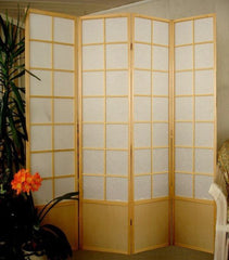 4 Panel 7 foot Tall Shoji Room Divider