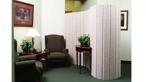 Acoustic Mobile Room Dividers