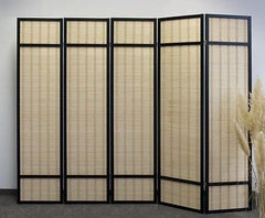 Image of 6 panel screen - Room Dividers