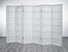 Shiro Room Divider Screen - White - 6 Panel