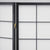 Hoshi Room Divider Screen - Black - 4 Panel