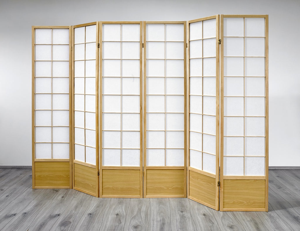 Tremendous Hoshi Room Divider Screen Natural 6 Panel Download Free Architecture Designs Embacsunscenecom