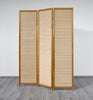 Nature Wood Room Divider - 3 Panel