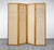 Nature Wood Room Divider - 4 Panel