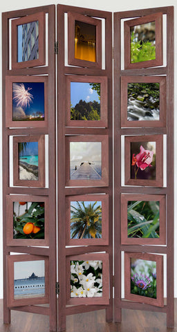 Photo Wall Room Divider Screen