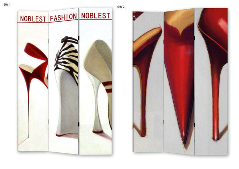 Shoes and Heels Room Divider Screen