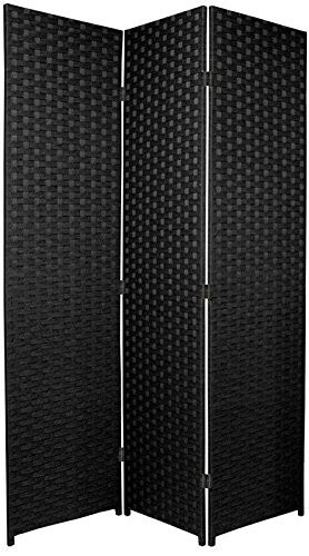 Entwine Black Colour Room Divider Screen - 3 Panel