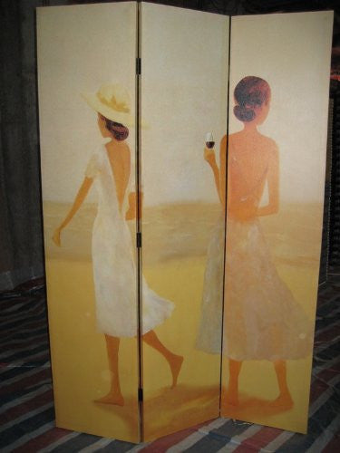 Beach Girls Room Divider Screen