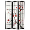 Image of Cherry Tree Shoji Screen - 3 Panel