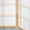 Shiro Room Divider Screen - Natural - 3 Panel