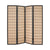 Choko Wood Line Room Divider Screen - 4 Panel