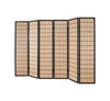 Choko Wood Line Room Divider Screen - 6 Panel