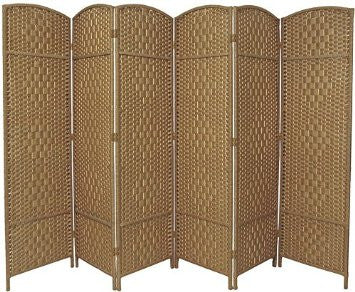 Entwine Natural Colour Room Divider Screen - 6 Panel