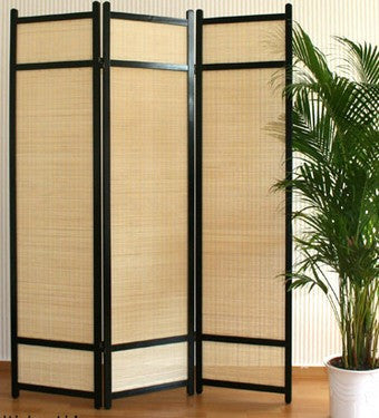 Kimura Room Divider Screen 3 Panel Room Dividers UK