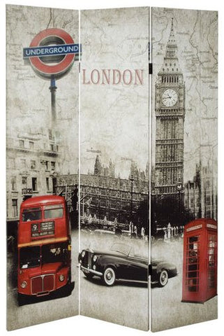 London Room Divider Screen