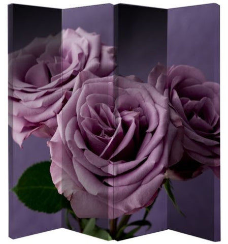 Plum Rose Room Divider Screen