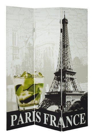 Paris Room Divider Screen