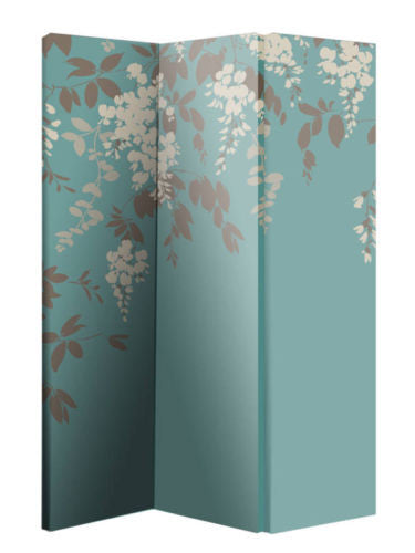 Wisteria Room Divider Screen