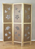 Stencil Room Divider Screen