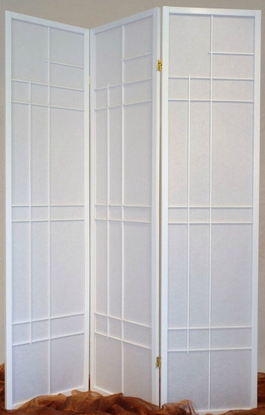 Trend Room Divider Screen - White - 3 Panel