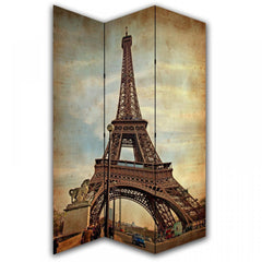 Paris Eiffel Tower Room Divider Screen