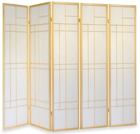 Trend Room Divider Screen - Nature - 5 Panel