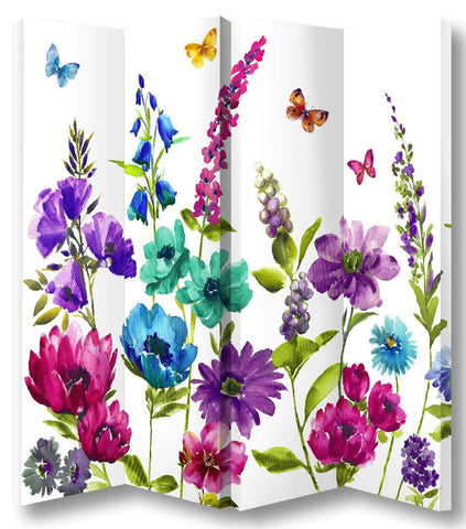 Cottage Garden Room Divider Screen