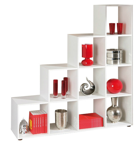 Decorative Shelving Room Divider - 10 compartments