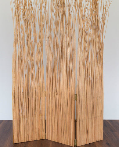 Loose Wicker Room Divider - Natural