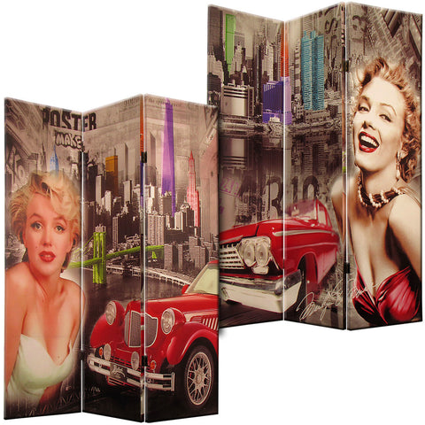 Marilyn Monroe Canvas Room Divider