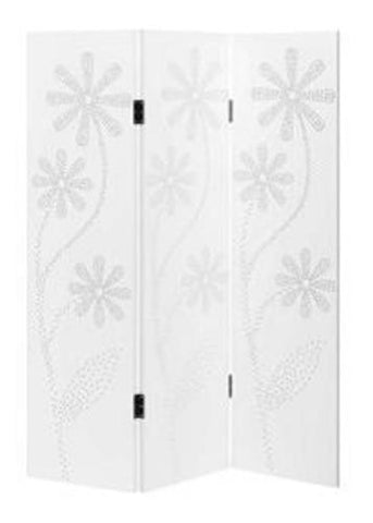 Winther Browne Childrens Room Divider Screen - White Finish
