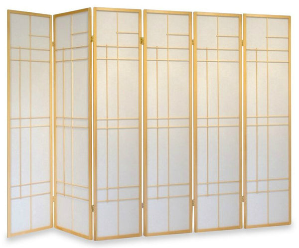 Trend Room Divider Screen - Nature - 6 Panel