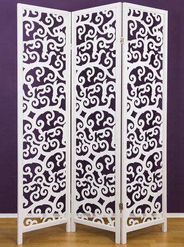 Tree Pattern Wooden Room Divider