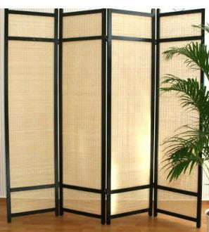 Kimura Room Divider Screen - 4 Panel