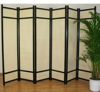 Kimura Room Divider Screen - 6 Panel
