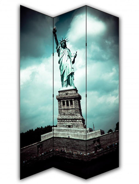 Statue Of Liberty Room Divider Screen