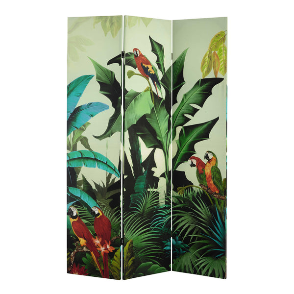 Santana Tropical Room Divider Screen