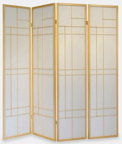 Trend Room Divider Screen - Nature - 4 Panel
