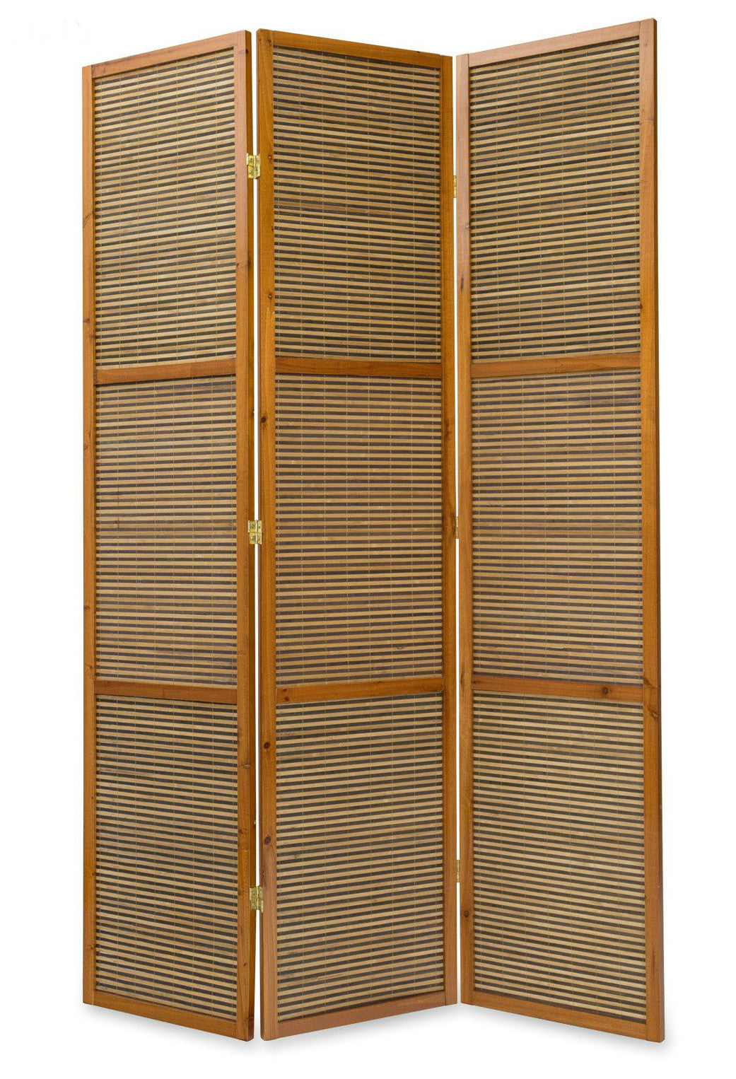 Bamboo Room Divider - 2 Meter Tall - 3 Panel
