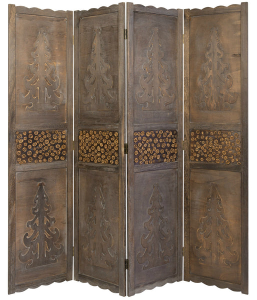 Decorative Paravent Room Divider Screen - 4 Panel