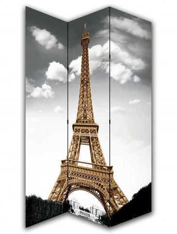 Eiffel Tower Room Divider Screen