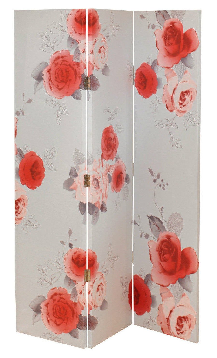 Nicky Rose Flowers Room Divider Screen