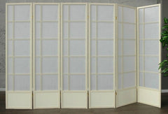Akio Room Divider Screen - Cremo - 6 Panel