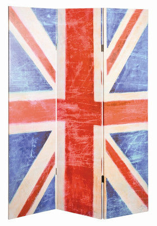 Union Flag Room Divider Screen