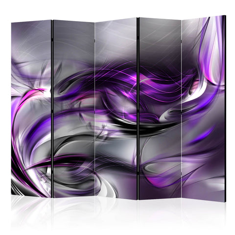 Double Sided Dimension Room Divider Screen - 5 Panel