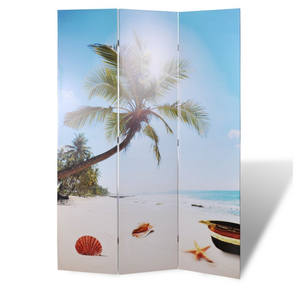 Beach Room Divider - 3 Panel