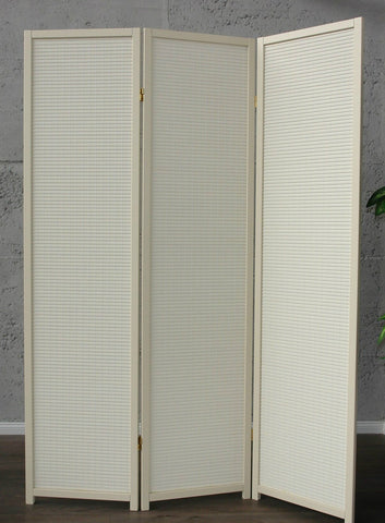 Cremo Wood Room Divider - 3 Panel