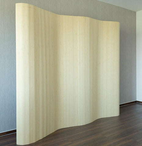 Bamboo Flexible Room Divider - Light