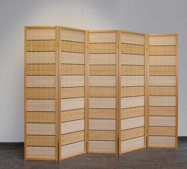 Sutao Room Divider Screen - Nature - 5 Panel