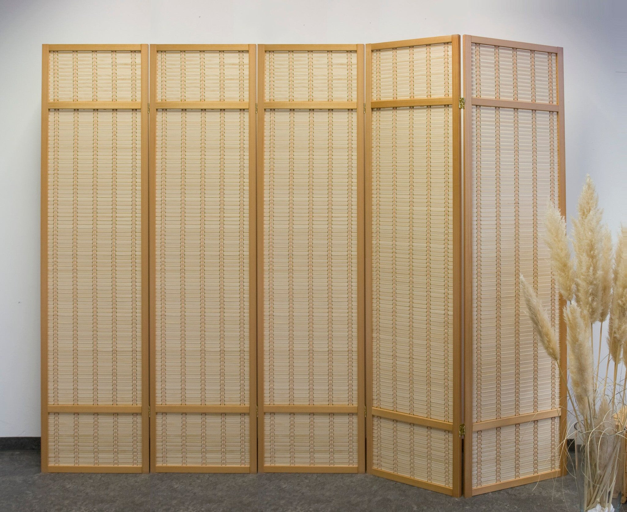 Wuh Nature Room Divider 5 Panel